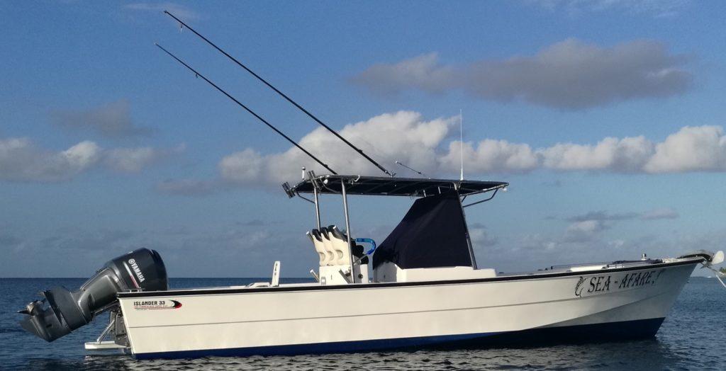 Taveuni Fishing Charters aboard the Sea Afare with Makaira Resort