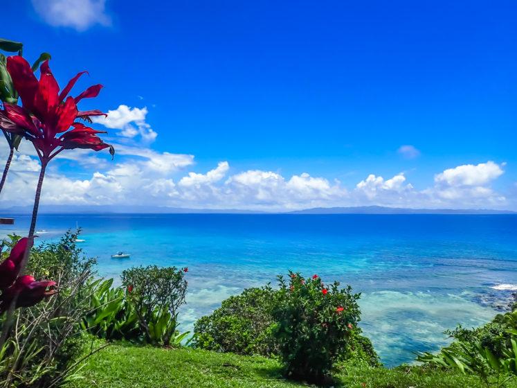 View from Makaira Resort, Taveuni, Fiji Islands