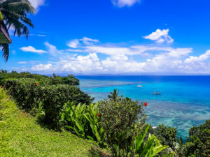 View from Makaira Resort, Taveuni, Fiji Islands